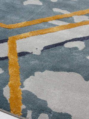 Honey Comb area rug